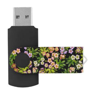 Lenten Blitz-Antrieb Rosehellebore-Blumen USB 64GB USB Stick