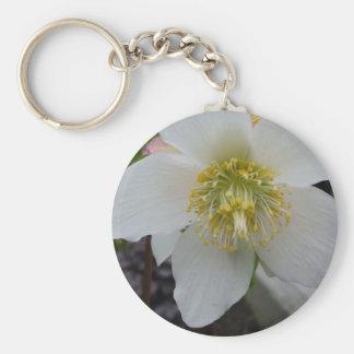 Lenten Rosen-Blumen-Schlüsselkette Schlüsselanhänger
