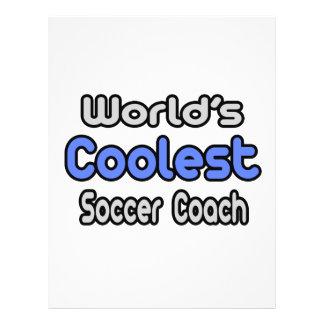L'entraîneur du football le plus frais du monde tract customisé