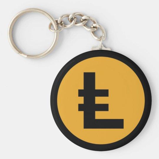 LEOcoin Keychain Standard Runder Schlüsselanhänger