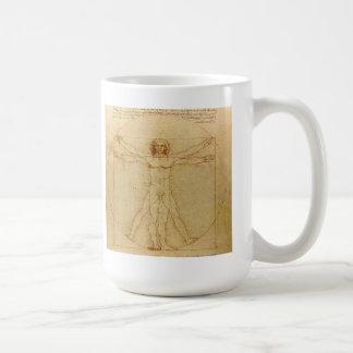 Leonardo da Vinci , Vitruvian Man Kaffeetasse