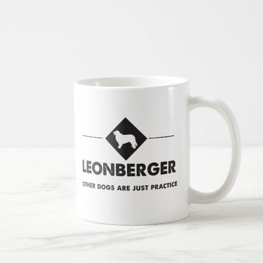 Leonberger - andere Hunde sind üblich Kaffeetasse
