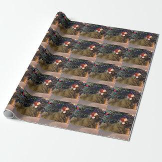 Leonberger WeihnachtsPackpapier Geschenkpapierrolle