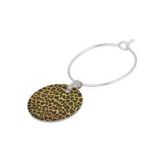 Leopard Brown und gelber Druck Glasmarker