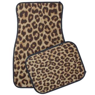 Leopard-Druck-Auto-Boden-Matten Autofußmatte