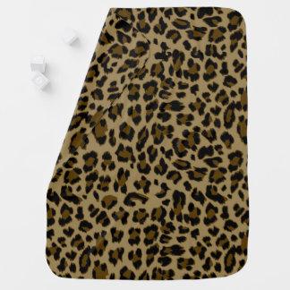 Leopard-Druck-Baby-Decke Puckdecke