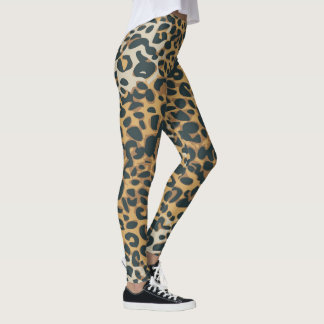 Leopard-Druck-Muster 2 Leggings