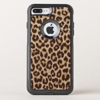 Leopard-Druck OtterBox Pendler iPhone 7 Plusfall