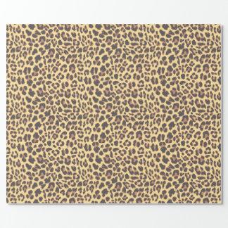 Leopard-Druck-Tierhaut-Muster Einpackpapier