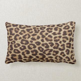 Leopard-Drucklumbar-Kissen Lendenkissen
