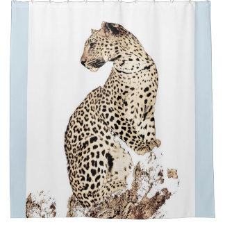 Leopard Duschvorhang