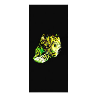 Leopard-Gestell-Karte Werbekarte