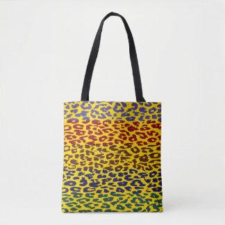 Leopard-Haut-Muster Tasche