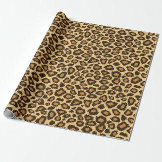 Leopard-Haut-Tier-Muster Einpackpapier