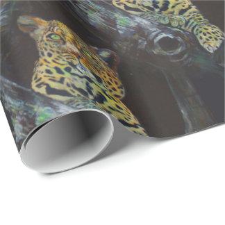 Leopard nachts, Art. Geschenkpapier