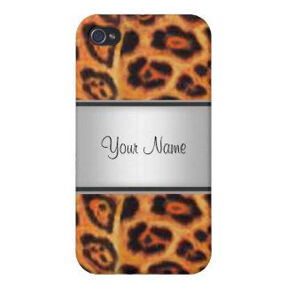 Leopard-Pelz I iPhone 4 Etuis