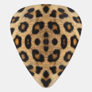 Leopard-Pelz-Muster-Plektrum Plektron