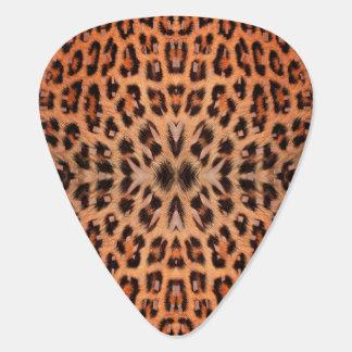 Leopard-Pelz-Muster-Plektrum Plektrum
