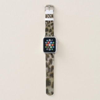 Leopard-Pelz-Uhrenarmband Apple Watch Armband