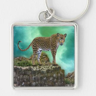 Leopard Schlüsselanhänger