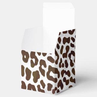 Leopard-Schokoladen-Druck Geschenkschachtel