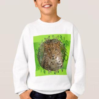 Leopard-St Patrick Kleidung Sweatshirt