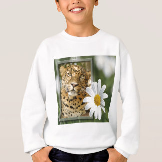 Leopard-St Patrick Tages-Kleidung Sweatshirt