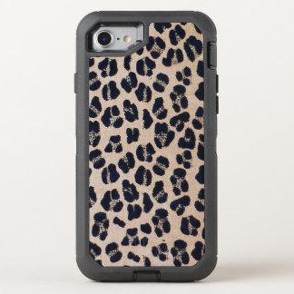 Leopardmuster OtterBox Defender iPhone 8/7 Hülle