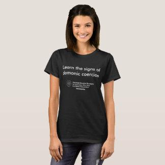 Lernen Sie die Zeichen T-Shirt