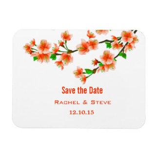 Les belles branches sauvent l'aimant de mariage de magnets