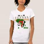 Les champions 2010 de l'Egypte d'illustration d'am T-shirt