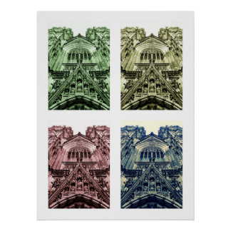 Les DOM de Kölner d'impression de toile de Leinwan Posters