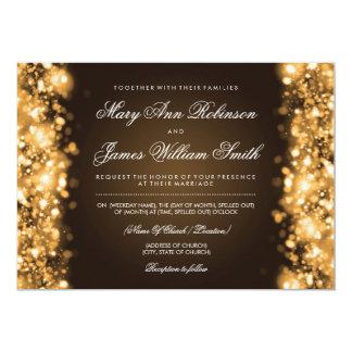 Les économies élégantes de mariage la date carton d'invitation  12,7 cm x 17,78 cm