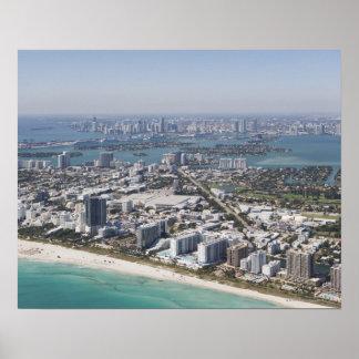 Les Etats-Unis, la Floride, Miami, paysage urbain  Posters