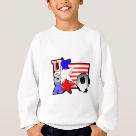 Les ÉTOILES DU FOOTBALL de FEMMES des Etats-Unis Sweatshirt