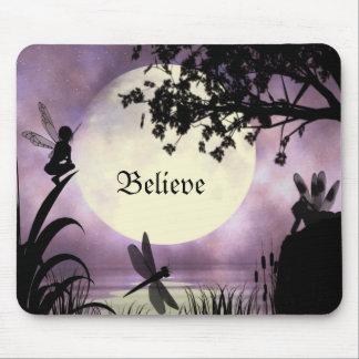 Les fées I croient le mousepad Tapis De Souris