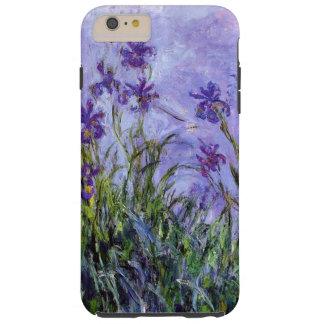 Les iris lilas de Monet Coque iPhone 6 Plus Tough
