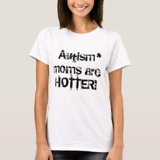 Les mamans d'autisme sont une pièce en t plus t-shirt