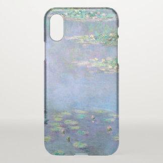 Les Nympheas Wasser-Lilien Monet schöne Kunst iPhone X Hülle