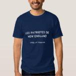 LES PATRIOTES De NOUVELLE ANGLETERRE, vitesse de Tee Shirts