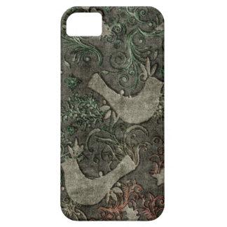 Les perruches vintages ont gravé l'iPhone en refie Coques iPhone 5 Case-Mate