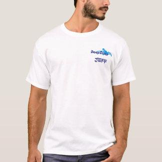 Les plongeurs vont plus profonds t-shirt