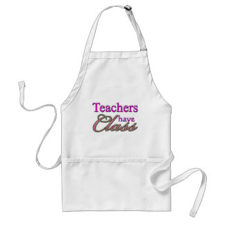 Les professeurs ont Classe-Rose Tablier