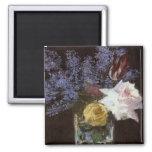 Les roses, les tulipes, et les lilas de Manet dans Aimant