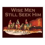Les sages le cherchent toujours, Noël Carte Postale