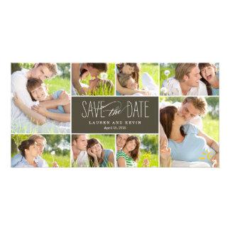Les souvenirs doux sauvent les cartes photos de da photocarte personnalisée