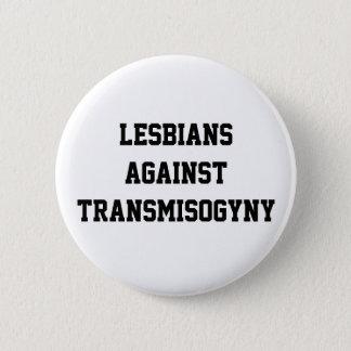 Lesben gegen transmisogyny runder button 5,1 cm