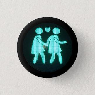 Lesbischer Fußgängersignal-Knopf