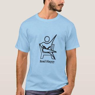 Lesen Sie glückliche 02 T-Shirt