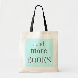 Lesen Sie mehr Bücher Budget Stoffbeutel